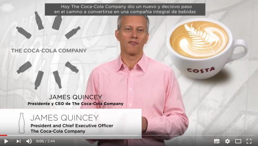 CEO COCA COLA - ¿Por qué Coca-Cola se animó a comprar Costa Coffee?