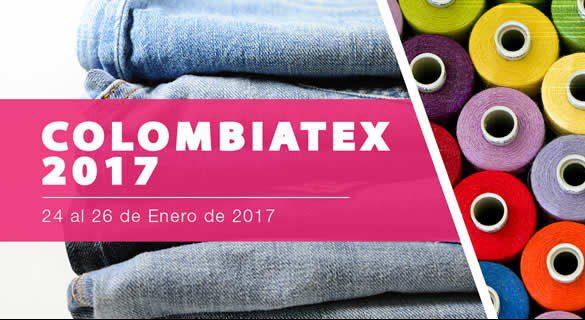 COLOMBIATEX 2017 - Feria Colombiatex contará en su 29° edición de este año con marcas reconocidas