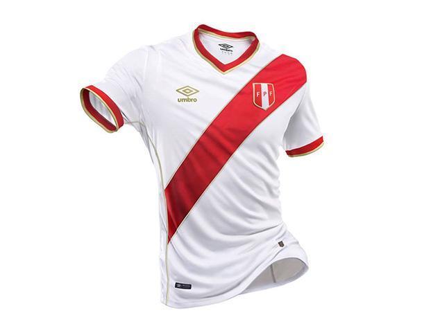 Camiseta Selección - Mundial Rusia 2018: FPF y Umbro presentarán este lunes la nueva camiseta de la selección peruana en la Videna