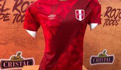 Camiseta selección peruana 248x144 - Rusia 2018: Selección peruana presentó su tercera camiseta mundialista