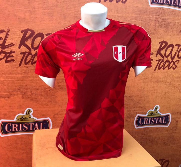 Camiseta selección peruana - Rusia 2018: Selección peruana presentó su tercera camiseta mundialista