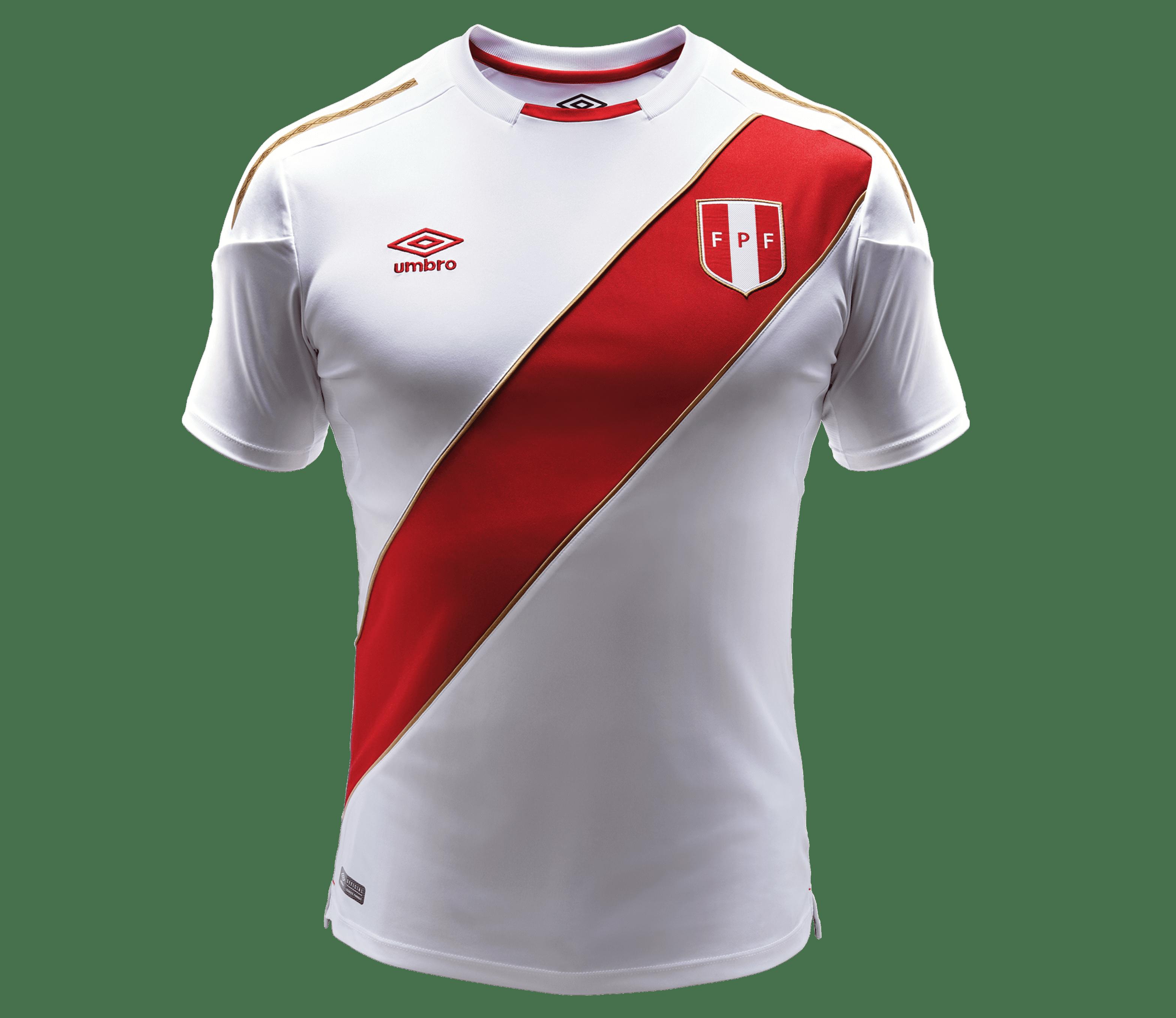 Camiseta selección peruana