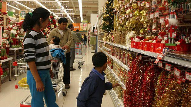 Campaña navideña centros comerciales
