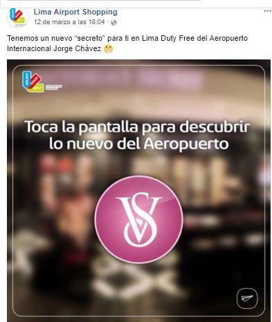 Captura aeropuerto victoria - Victoria's Secret ingresará a Plaza San Miguel