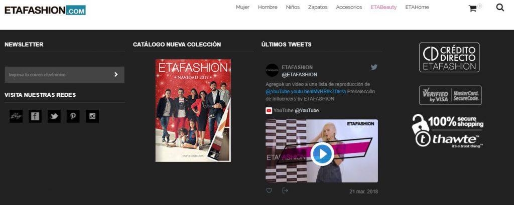 Captura ethafashion 1024x409 - Etafashion presentó oficialmente su e-commerce en Ecuador