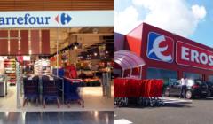 Carrefour y Eroski