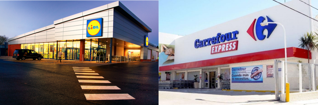 Carrefour y Lidl abren nuevas tiendas en España
