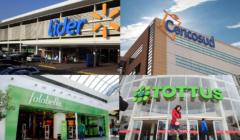 Cencosud, Walmart y Falabella crecen en Chile