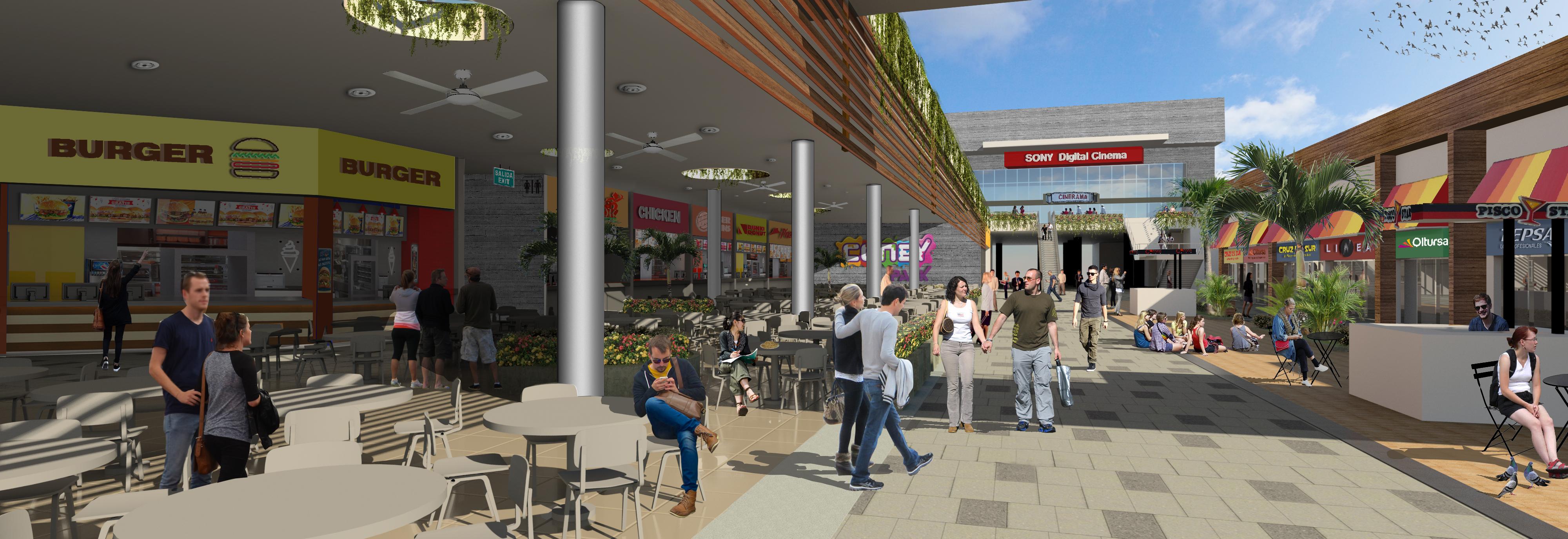Centro comercial Minka 2