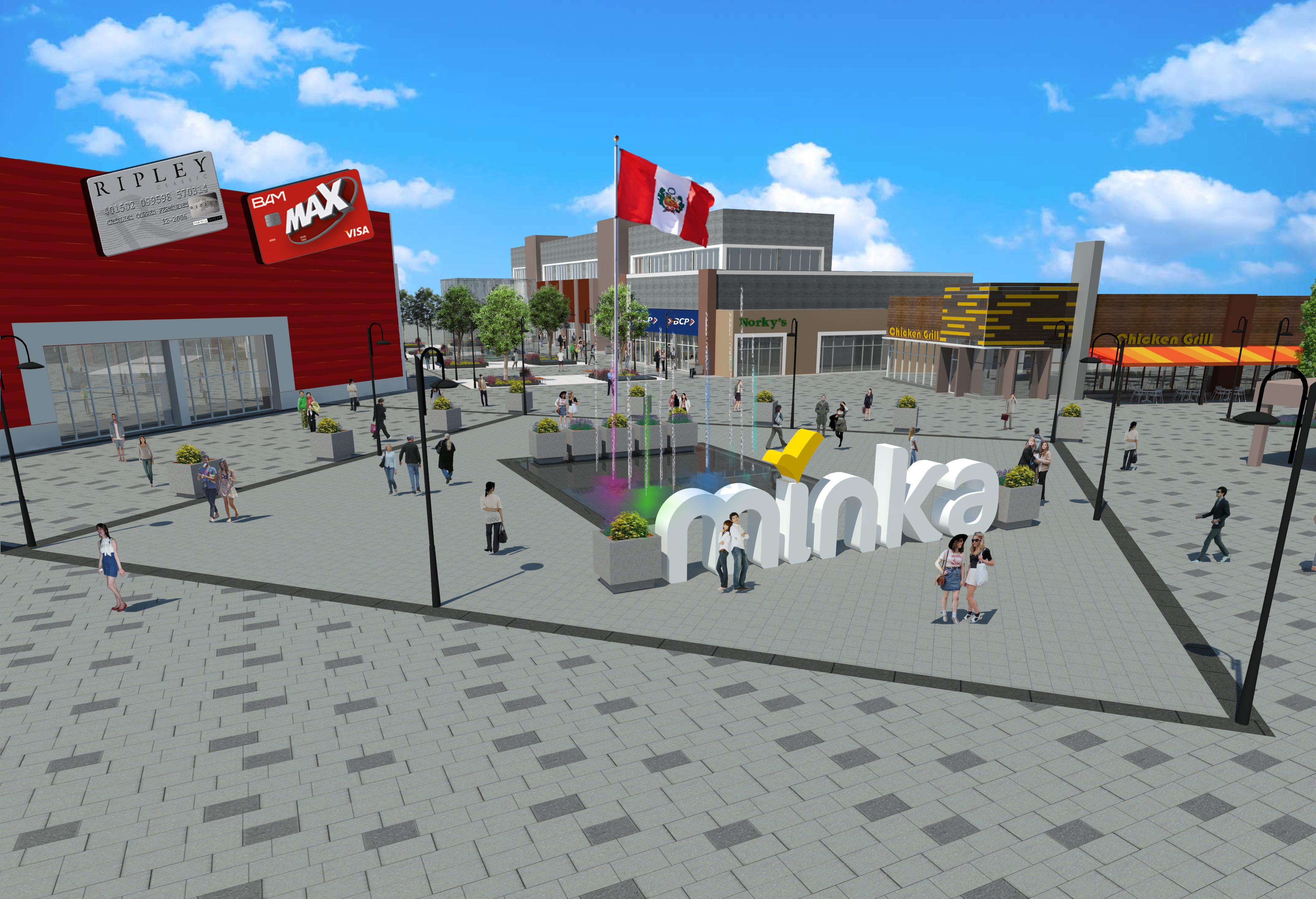 Centro comercial Minka
