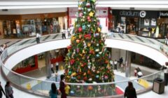 Centros comerciales se adelantan a la campaña navideña