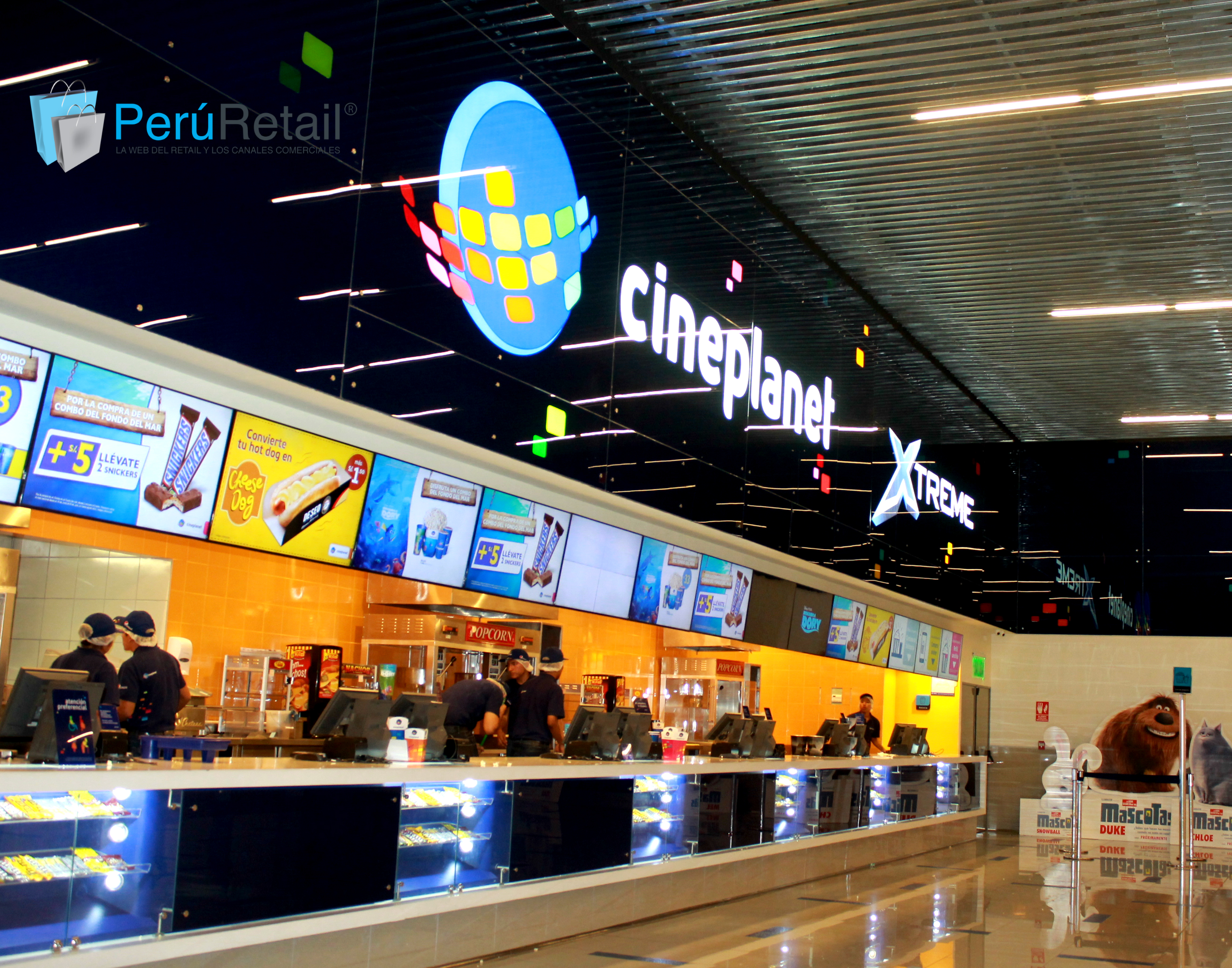 Cineplanet 89 Peru Retail