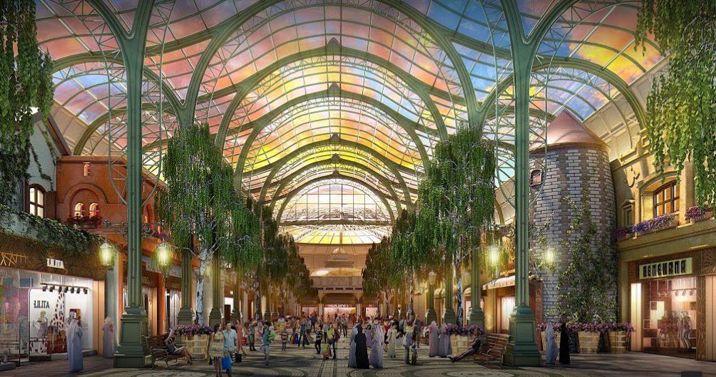 Cityland Mall 2 - Dubai: Cityland Mall, proyecto inspirado en la naturaleza abrirá este año