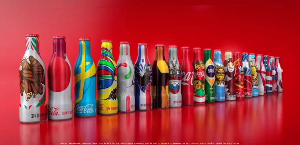 Coca Cola Brasil 2014 1024x498 - Coca Cola lanzará colección de mini botellas mundialistas en México