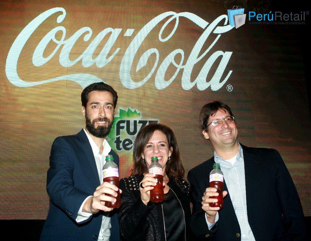 Coca Cola Fuze Tea 4 Peru Retail 1 - Coca-Cola ingresa a competir a la categoría de tés fríos en Perú