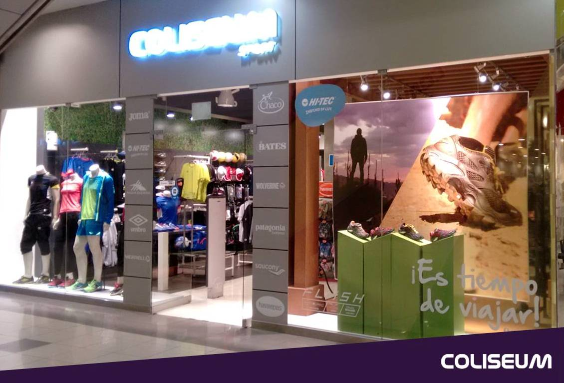Coliseum Sport - Coliseum prevé crecer 20% este año en Perú