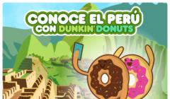 Conoce el Perú dunkin donuts