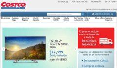 Costco ventas online Mexico