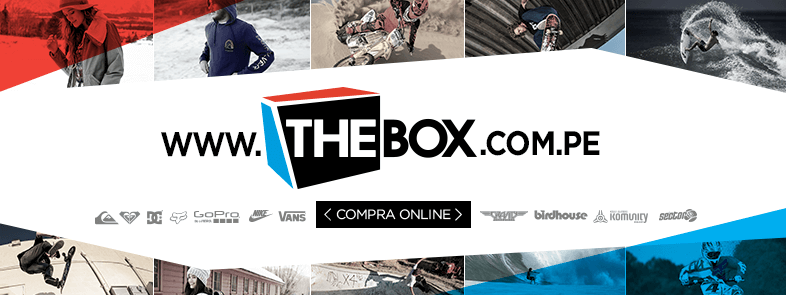 Cover THE BOX WEB Final Actualizada - The Box abre tienda online para todo el Perú