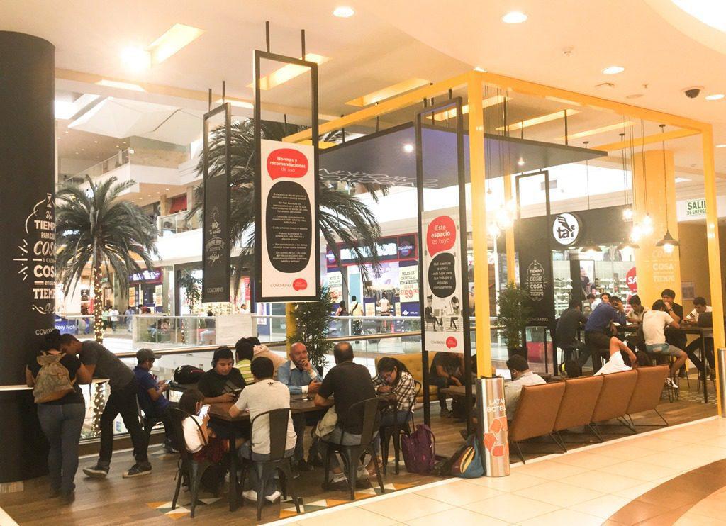 Coworking2 - Mall Aventura y Jockey Plaza implementan espacios de trabajo con Wifi gratis