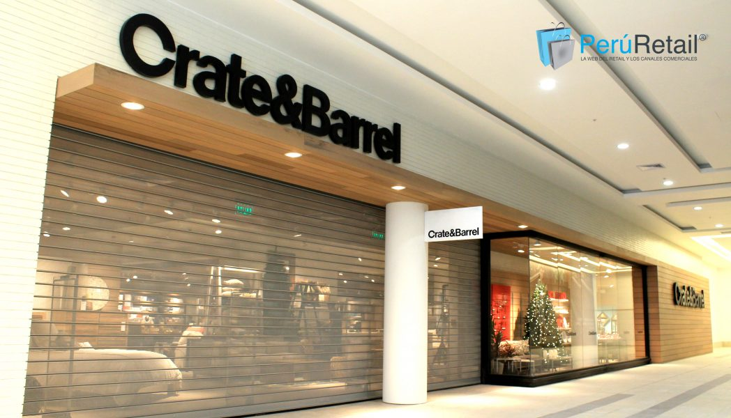 Crate&Barrel Jockey Plaza Peru Retail