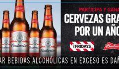 Cupón 240x140 - Fridays regala cerveza por un año a nivel nacional