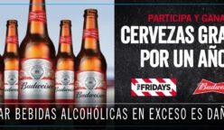 Cupón 248x144 - Fridays regala cerveza por un año a nivel nacional
