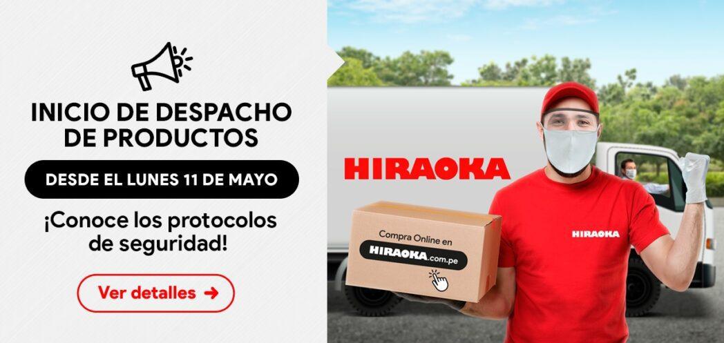 Cyber Days 2 - Perú: Hiraoka reanuda operaciones con servicio de reparto a domicilio