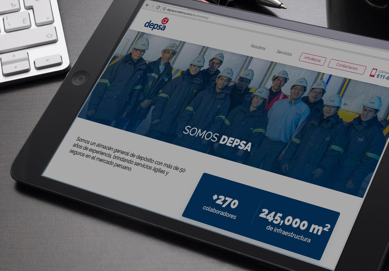 DEPSA foto 1 - Logística: Depsa anuncia el lanzamiento de su nueva página web