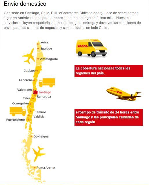 DHL ecommerce chile