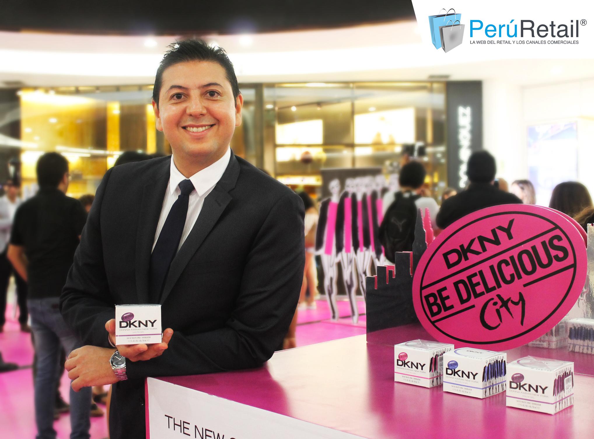 DKNY PERU RETAIL 4 - Donna Karan realizó lanzamiento de nuevas fragancias para el Perú