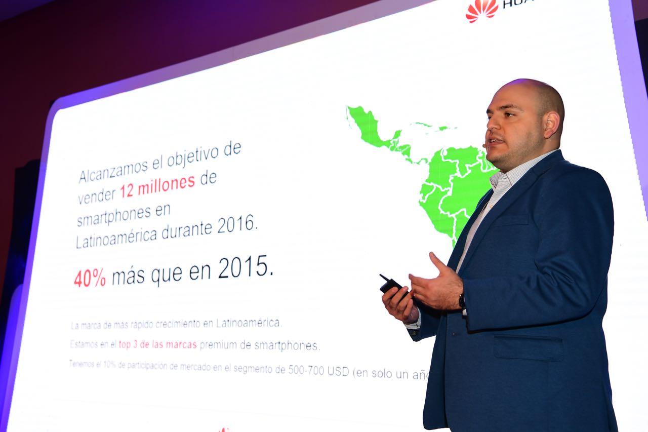 David Moheno Director de Relaciones Públicas Latinoamérica - Huawei es una de las marcas de mayor crecimiento en la región