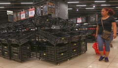 Desabastecimiento de supermercados