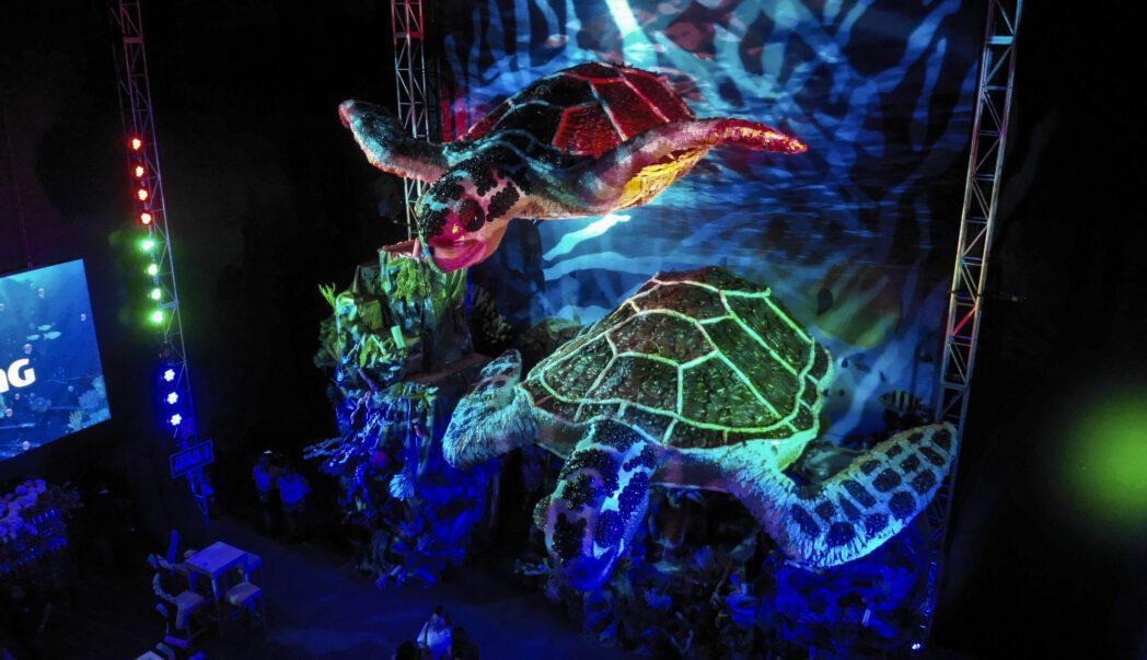Difusión ReciclArte 2 - Perú: Wong y Backus crean las tortugas más grandes del país con material reciclado
