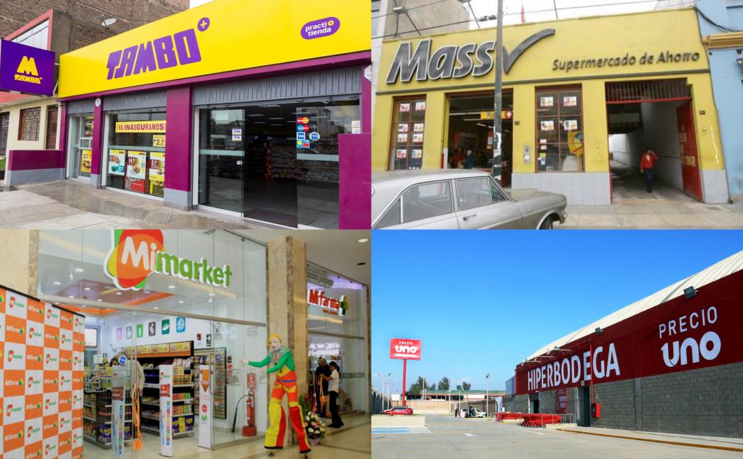 Discounters y tiendas de conveniencia en Perú