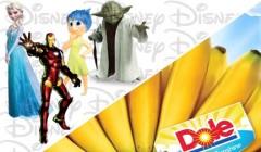 Disney y Dole 240x140 - Disney creará una línea de comida saludable para niños