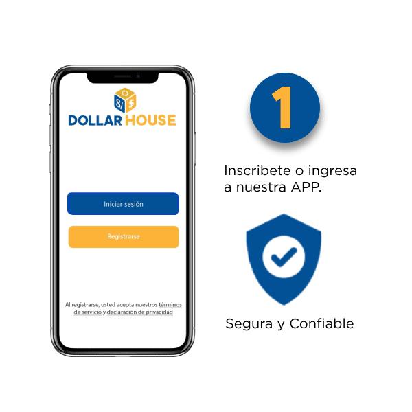 Dollar House app - Dollar House, la app para cambiar dólares de forma segura y rápida