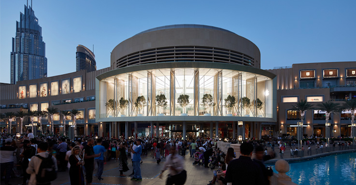 Dubai Mall 1 - Apple abre en el Dubai Mall su tienda más lujosa
