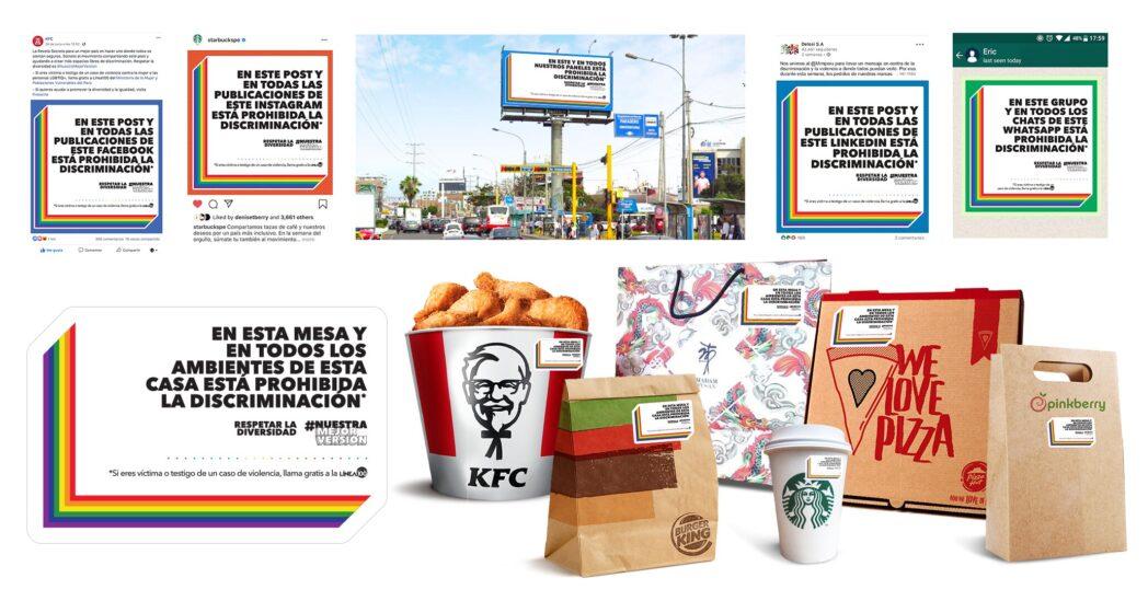 ESPACIOS SEGUROS - KFC, Pizza Hut, Starbucks y más empresas se unen en contra de la discriminación