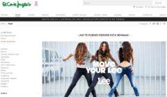 El Corte Inglés creará tiendas propias online para cada marca de moda