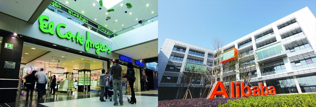 89df991e30a El Corte Inglés y Alibaba se unen para desarrollar nuevos negocios
