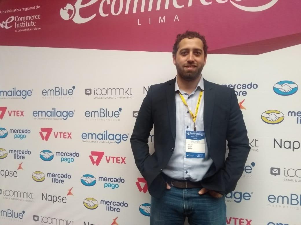 El Director Regional de Partner Operations Latam Glovo Willem Schol. Perú Retail - Perú es el país más importante de Latinoamérica para Glovo