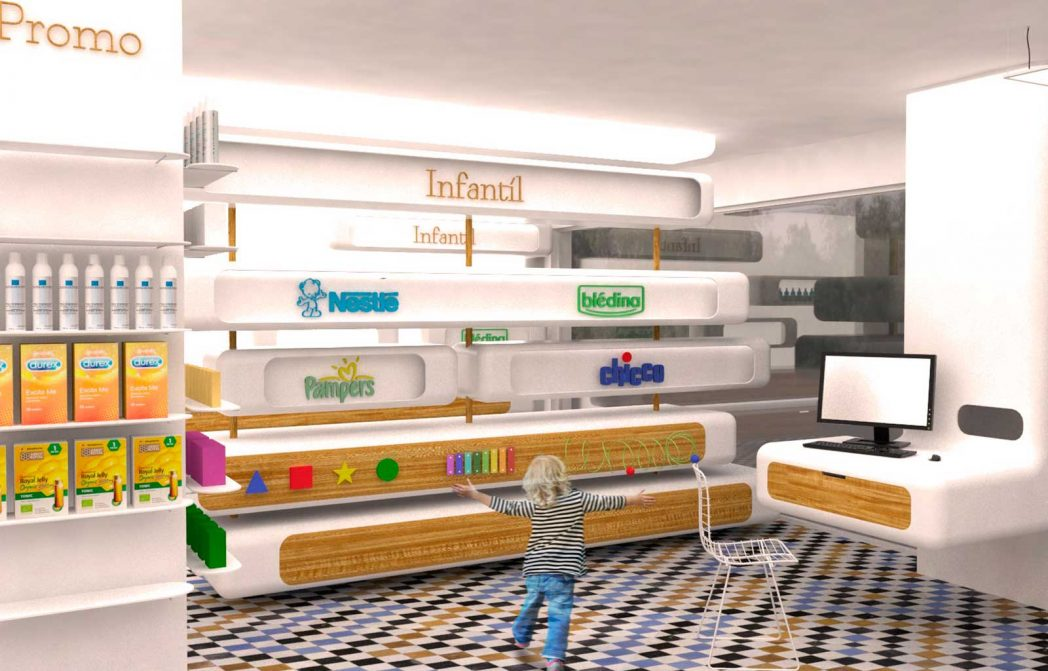 Elementos de diseño de espacios comerciales 2