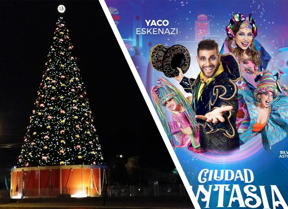Encendido del Arbol - Perú: Centros comerciales ya viven el espíritu navideño