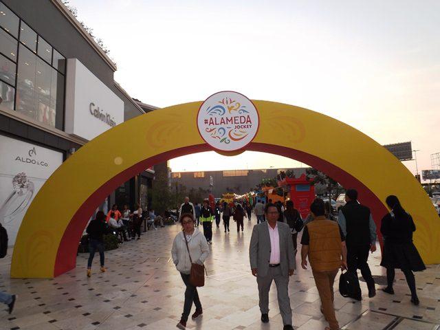 Entrada Alameda Jockey - Alameda Jockey, un espacio dedicado al emprendimiento peruano