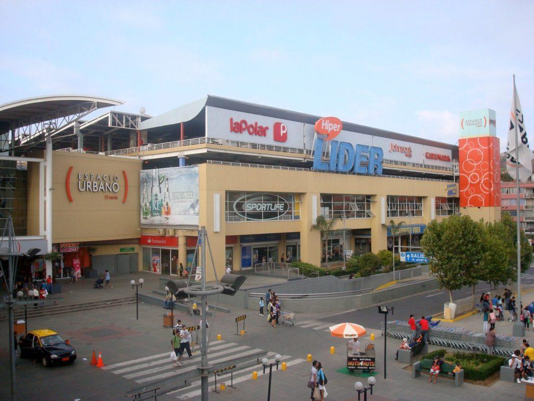 Walmart pone a la venta 10 centros comerciales en chile for Centros comerciales en santiago de chile