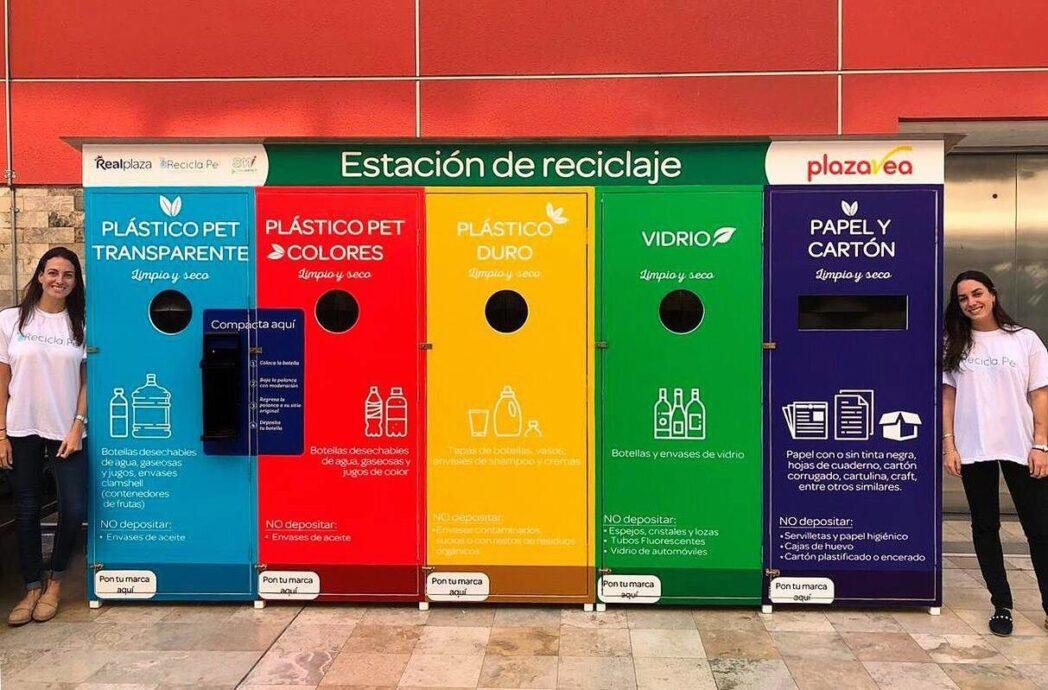 Estación de Reciclaje - Recicla,Pe!, la ONG que trabaja con retailers para incentivar el reciclaje de plásticos