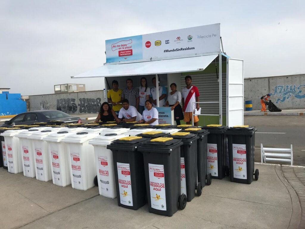 Estación de Reciclaje2 1024x768 - Recicla,Pe!, la ONG que trabaja con retailers para incentivar el reciclaje de plásticos