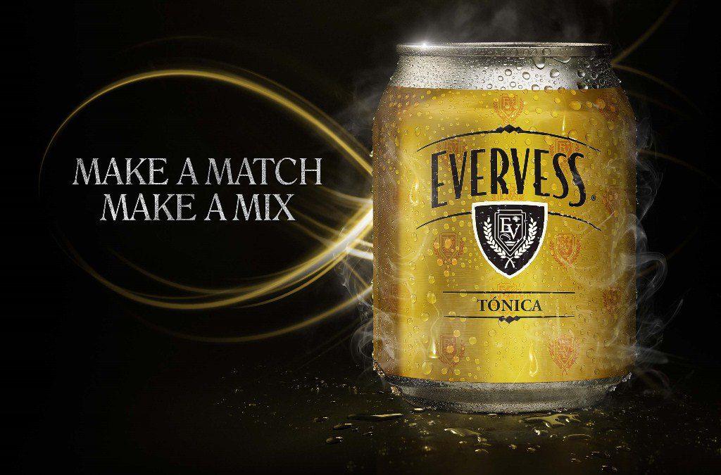 Evervess Tónica - PepsiCo lanza Evervess Tónica al mercado peruano