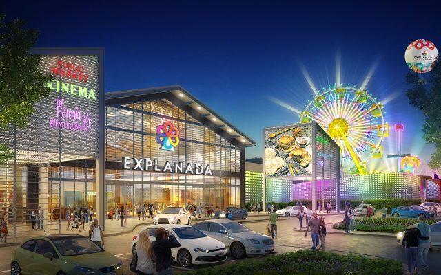 Explanada cc mexico - Gicsa prevé construir 15 malls en México